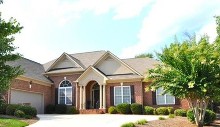 New Home in North Carolina with home insurance